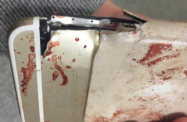Γυναίκα γλίτωσε τον θάνατο στο Μάντσεστερ λόγω του… iPhone