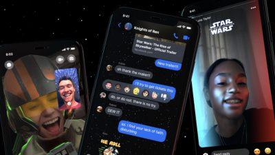Σε ρυθμούς Star Wars το Messenger (pics)