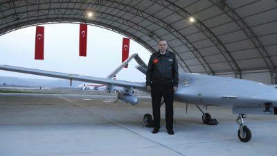 Οπλισμένα drones θα συνοδεύουν τα τουρκικά γεωτρύπανα