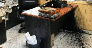 Επίθεση στα γραφεία των εφημερίδων «Δημοκρατία» και «Espresso» (vid)