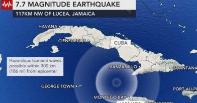 Σεισμός-μαμούθ 7,7 Ρίχτερ στην Καραϊβική