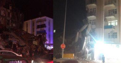 Σεισμός στην Τουρκία: Tέσσερις νεκροί-Κατέρρευσαν κτήρια