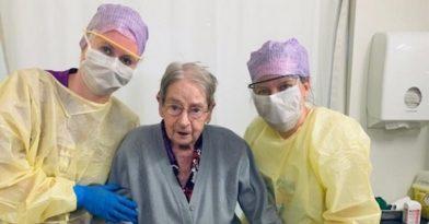 Koρονοϊός: Ολλανδή 101 ετών κέρδισε τον ιό