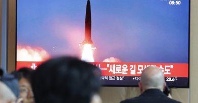 Η Βόρεια Κορέα εκτόξευσε δύο πυραύλους