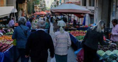 Κορονοϊός: Θερμομέτρηση από σήμερα στις λαϊκές της Θεσσαλονίκης