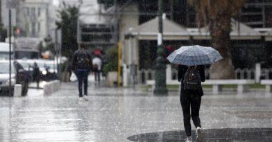 Ο καιρός τρελάθηκε: Χιόνια, καταιγίδες και πτώση θερμοκρασίας