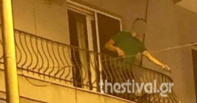 Θεσσαλονίκη: Μεθυσμένος πετούσε γλάστρες σε περαστικούς