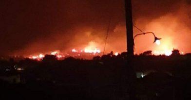 Ζάκυνθος: Ολονύχτια μάχη με τις φλόγες, εκκενώθηκαν οι Μαριές