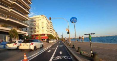 Θεσσαλονίκη: Αυτός είναι ο νέος ποδηλατόδρομος στη Λεωφόρο Νίκης