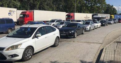 Προμαχώνας: Αυξημένη η κίνηση των αυτοκίνητων