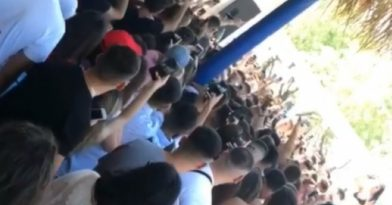 Απίστευτος συνωστισμός σε beach bar! (video)