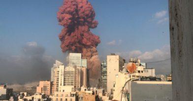 Αδιανόητες εκρήξεις στην Βηρυτό! (videos)