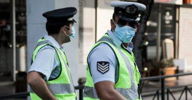 Κορονοϊός: Επεισόδιο σε έλεγχο για μάσκες στη Θεσσαλονίκη