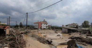 Εύβοια: Εικόνες βιβλικής καταστροφής