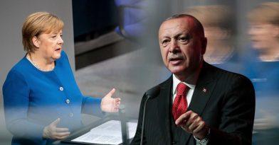 Ανήσυχη η Μέρκελ με Ερντογάν