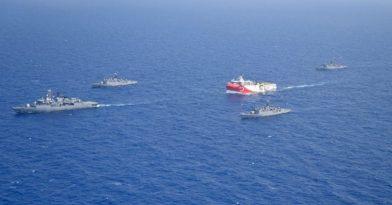 Οι Τούρκοι έσπασαν τη σιγή ασυρμάτου με πρόκληση