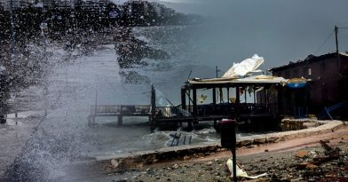 «Ιανός»: Βιβλικές καταστροφές σε Καρδίτσα, Φάρσαλα