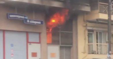 Θεσσαλονίκη: Φωτιά στην κάτω Τούμπα (pic)