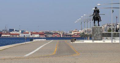 Θεσσαλονίκη: Απομακρύνθηκαν παράνομοι πάγκοι