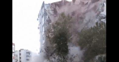 Σεισμός Σάμος: Κατέρρευσε κτίριο στην Σμύρνη! (videos)