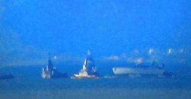 Πλοίο του Π.Ν. συγκρούστηκε με Εμπορικό έξω από το λιμάνι του Πειραιά