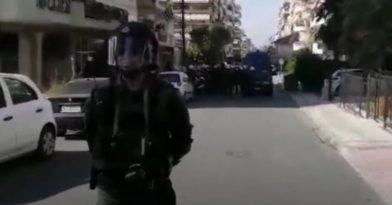 Θεσσαλονίκη: Επεισόδια με τραυματία αστυνομικό