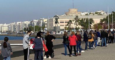 Σαρηγιάννης: «60.000-70.000 τα ενεργά κρούσματα στη Θεσσαλονίκη»
