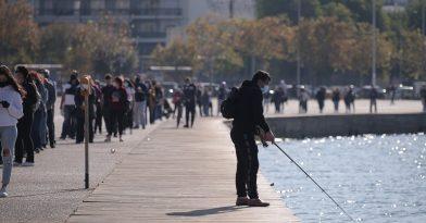 Θεσσαλονίκη: Θετικό το 7,4% των τεστ στη Νέα Παραλία