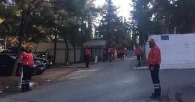 Θεσσαλονίκη: Ρίγη συγκίνησης στην κηδεία Σωτηράκη (vid)