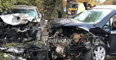 Θεσσαλονίκη: Δυο νεκροί σε τροχαία εν μέσω lockdown