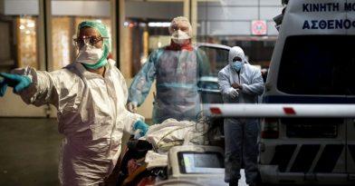 Κορονοϊός: 34 νεκροί, 319 διασωληνωμένοι, 610 νέα κρούσματα