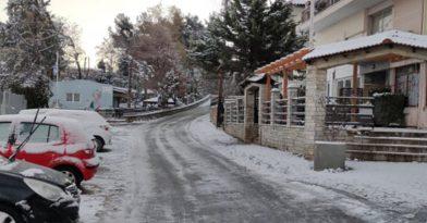 Στα… λευκά περιοχές της Θεσσαλονίκης (pics)