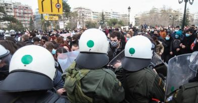 Θεσσαλονίκη: Επεισόδια στο φοιτητικό συλλαλητήριο