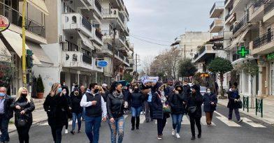 Εύοσμος: Νέα πορεία κατά του Lockdown