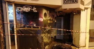 Θεσσαλονίκη: Άστεγος έβαλε φωτιά σε κατάστημα