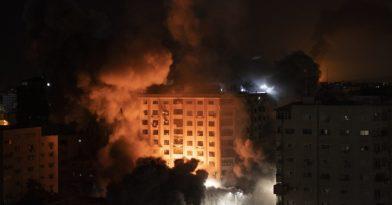 Νύχτα πολέμου σε Ισραήλ και Γάζα