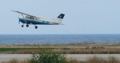 Ηλεία: Πτώση εκπαιδευτικού αεροσκάφους στη Χαριά! (pics-vid)