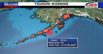 Η γη βρυχάται: Σεισμός 8,2 Ρίχτερ στην Αλάσκα