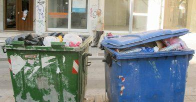 Καύσωνας – Θεσσαλονίκη: Σκουπίδια μόνο τις βραδινές ώρες
