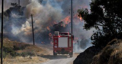 Συναγερμός στη Χαλκιδική: Σε εξέλιξη φωτιά στην Τορώνη