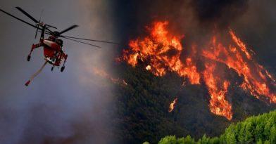 Φωτιά στην Εύβοια: Δραματική η κατάσταση