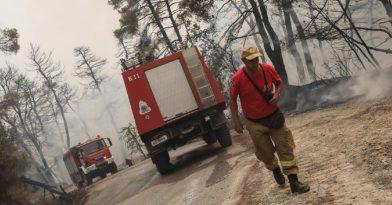 Φωτιά Εύβοια: Τεράστια αναζωπύρωση στο Κουρκούλι