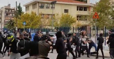 Μάχες σώμα – με σώμα σε ΕΠΑΛ στην Σταυρούπολη (video)