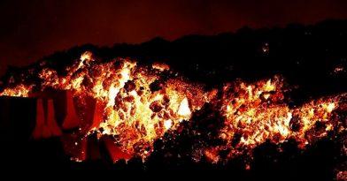 Εντυπωσιακές εικόνες από έκρηξη ηφαιστείου
